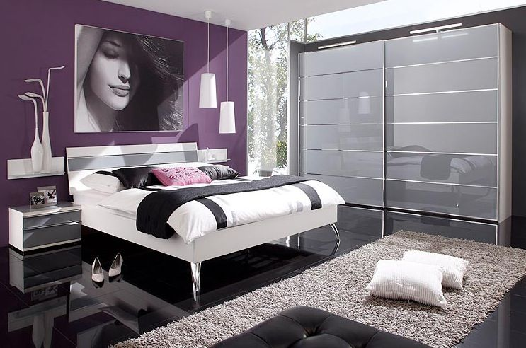1000 images about future chambre on pinterest shades of grey hanging pendants and taupe - Chambre Mauve Et Blanche