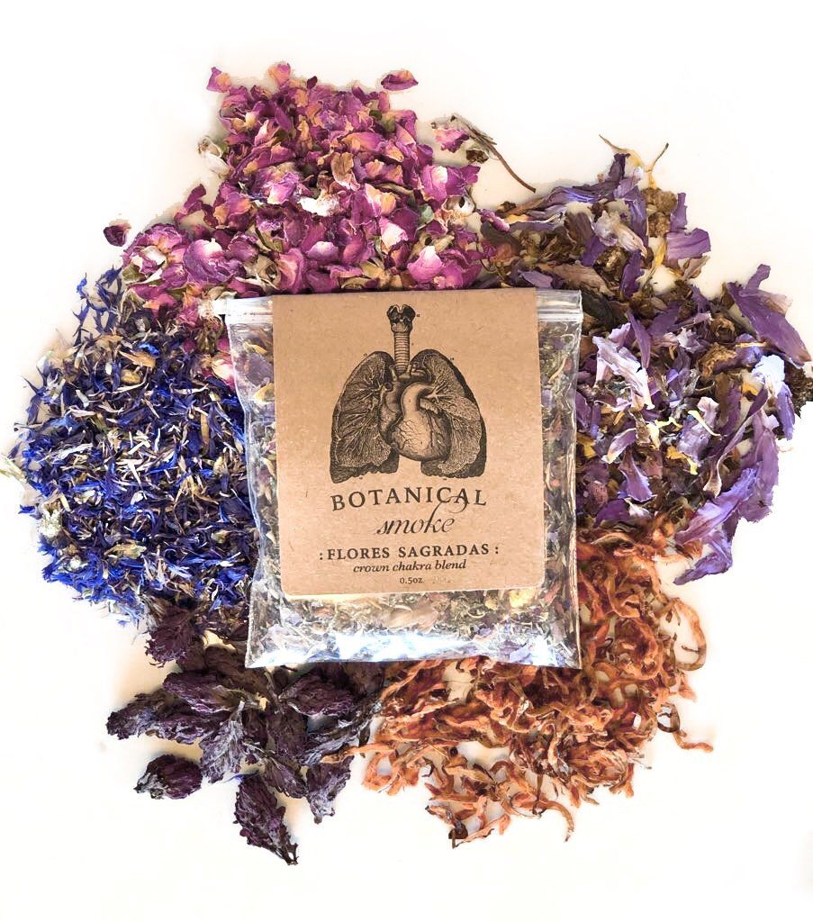 Flores Sagradas Sacred Herbal Smoke   SELF CARE   Herbalism