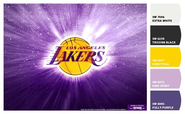 I Just Spotted The Perfect Colors Lakers Colors Lakers Wallpaper Los Angeles Lakers
