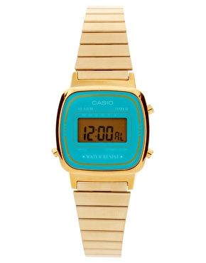 0dbcd87b615a Casio mini watch. Love turquoise.