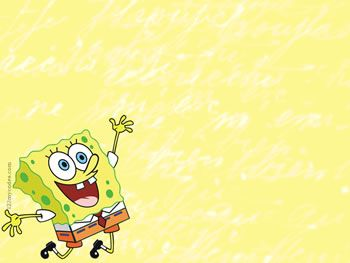 Free Backgrounds Spongebob Background For Powerpoint Slides Template Power Point Lucu Seni Gif Animasi Seni