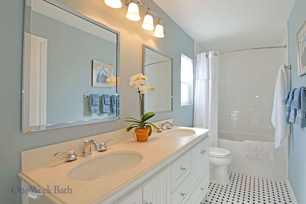 Los Angeles Bathroom Remodeling Design Contractor One Week Bath Bathroom Remodel Designs Bathrooms Remodel Bathroom Styling