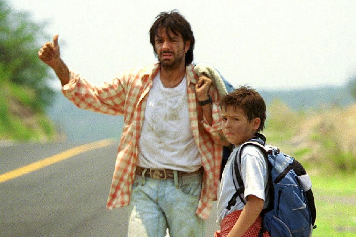 A young mexican boy travels to the us to find his mother