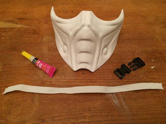 Mortal Kombat Inspired Mask Kit Sub Zero Scorpion By 6123d