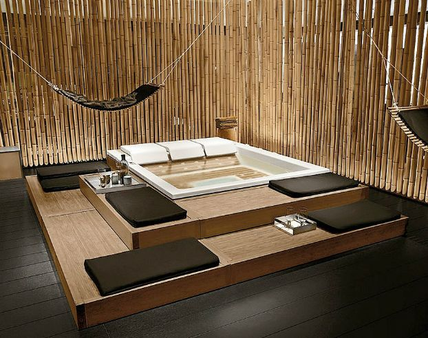 Stylish Mini Home Spa Hydromassage Design | Spa, Interiors and ...