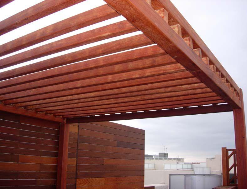 Dise o e instalaci n de p rgolas de madera marquesinas y - Diseno de pergolas de madera ...