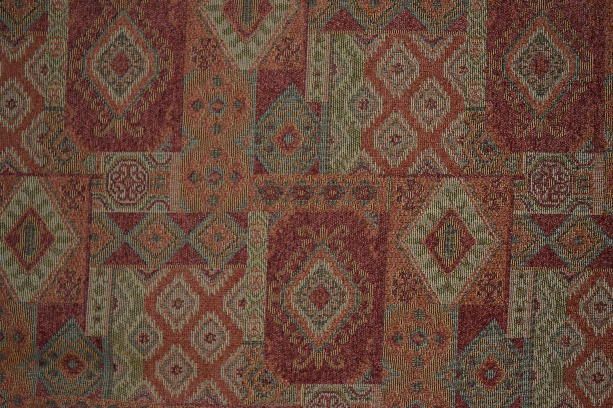 Jacquard Chenille Upholstery Fabric Sold By The Yard Tucson