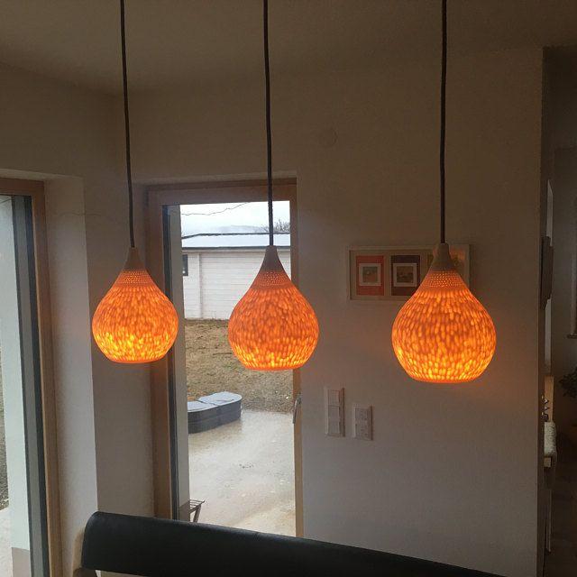 Porcelain dishes pendant lights Kitchen  chandelier Tea theme interior lighting