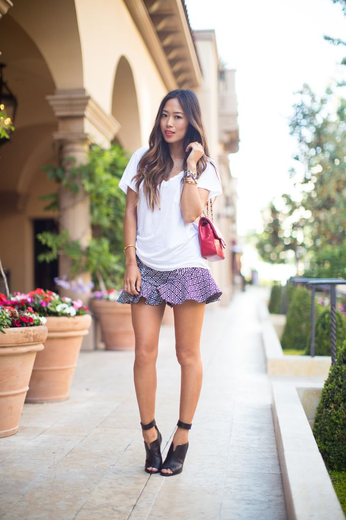 aimee song, street style, chanel