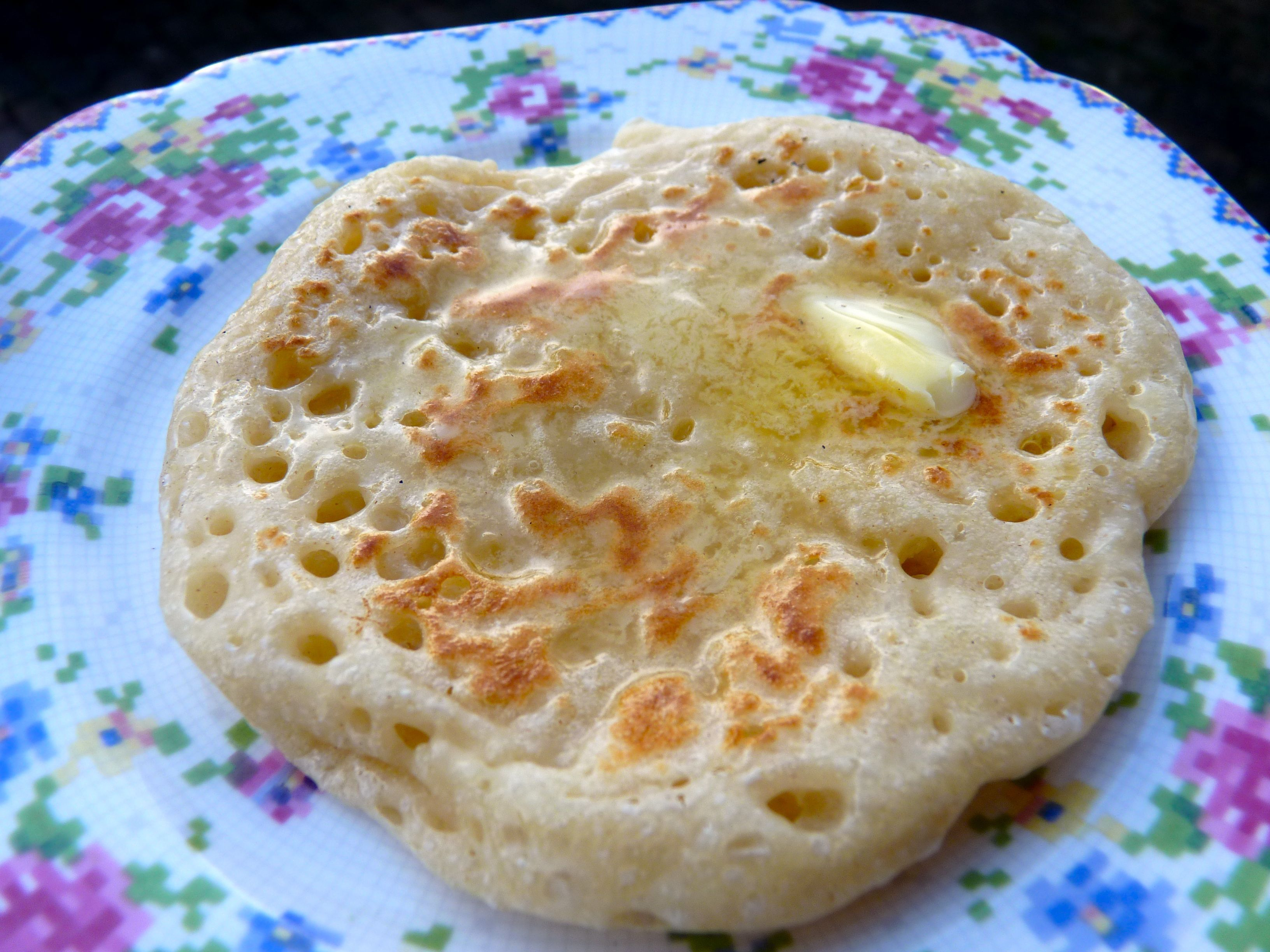 Homemade Crumpets Without Rings