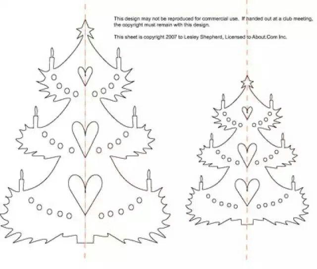 Pin by София София on из листа бумаги Pinterest - free christmas tree templates