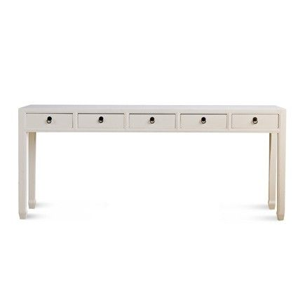 Mandarin Extra Long Console Table Many Colors With Images Extra Long Console Table Long Console Console Table