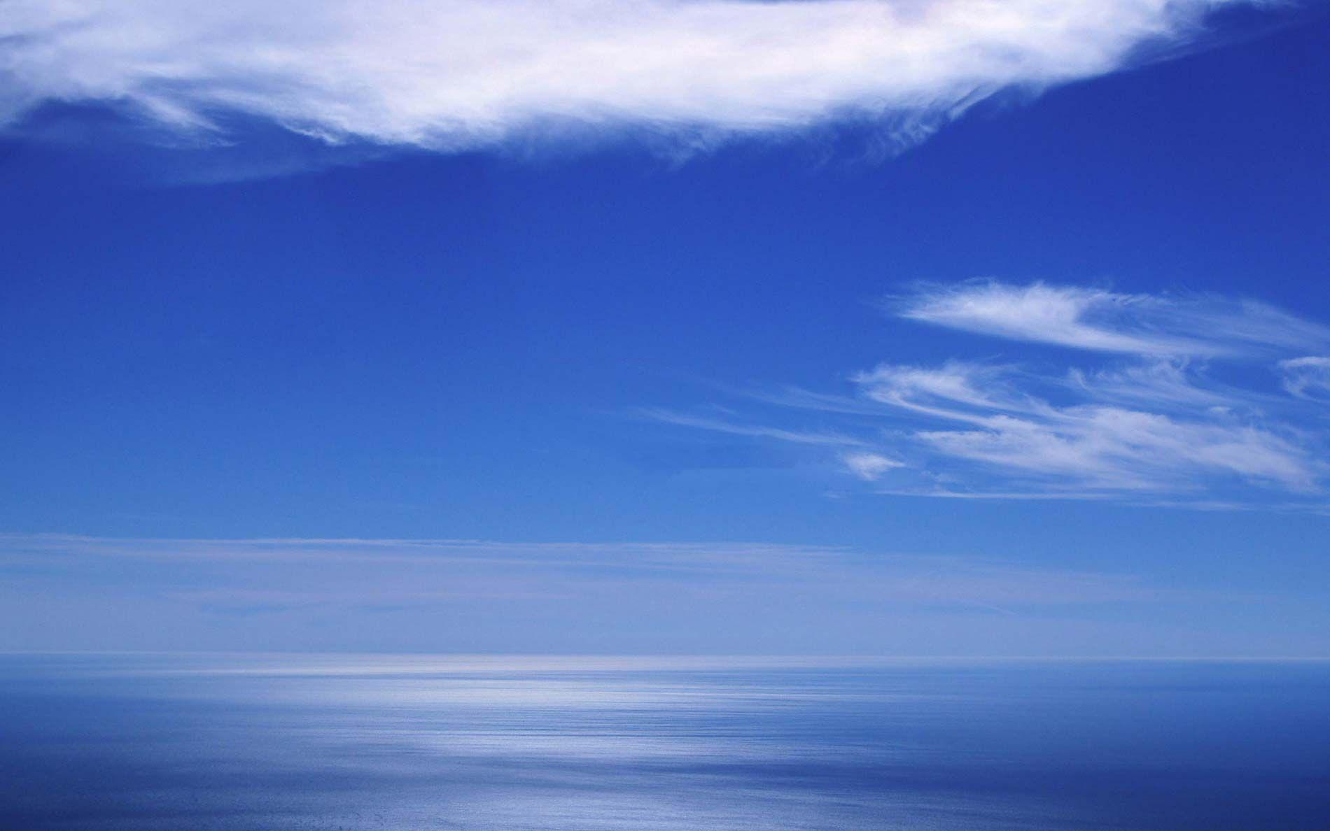 Fondo Pantalla Paisaje Cielo Azul