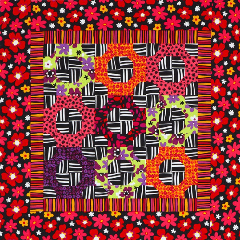 Magic Circles Wall Quilt Wall quilts, Magic circle, Quilts