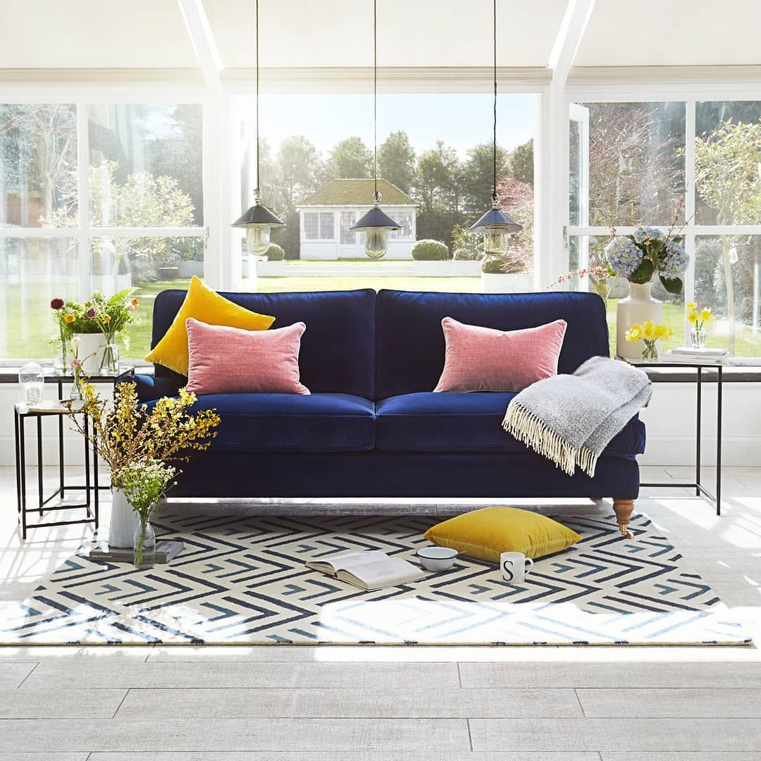 Our Undisputed Classic Bluebell Sofa Is A Complete