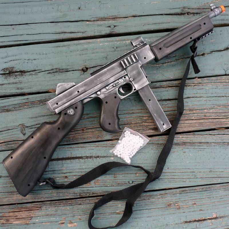 Steampunk Zombie Thompson Gun Airsoft Spring Pellet Toy Bb