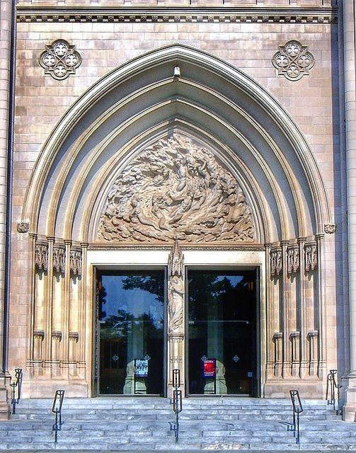 National Cathedral Washington DC - main entrance door & National Cathedral Washington DC - main entrance door | USA ...