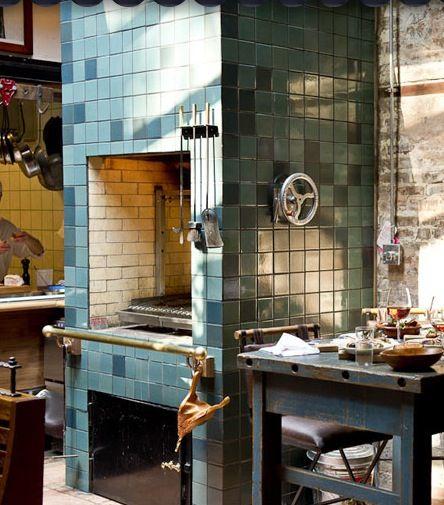 View Indoor Bbq Pit Restaurant