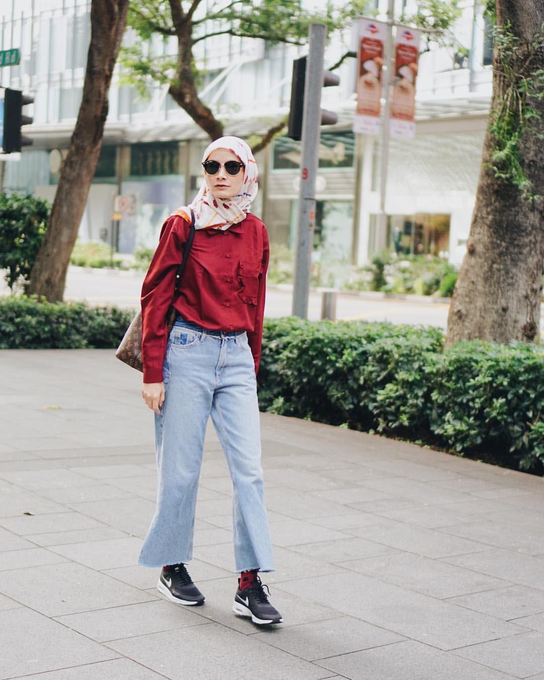 Dhaturembulan hijab style pinterest