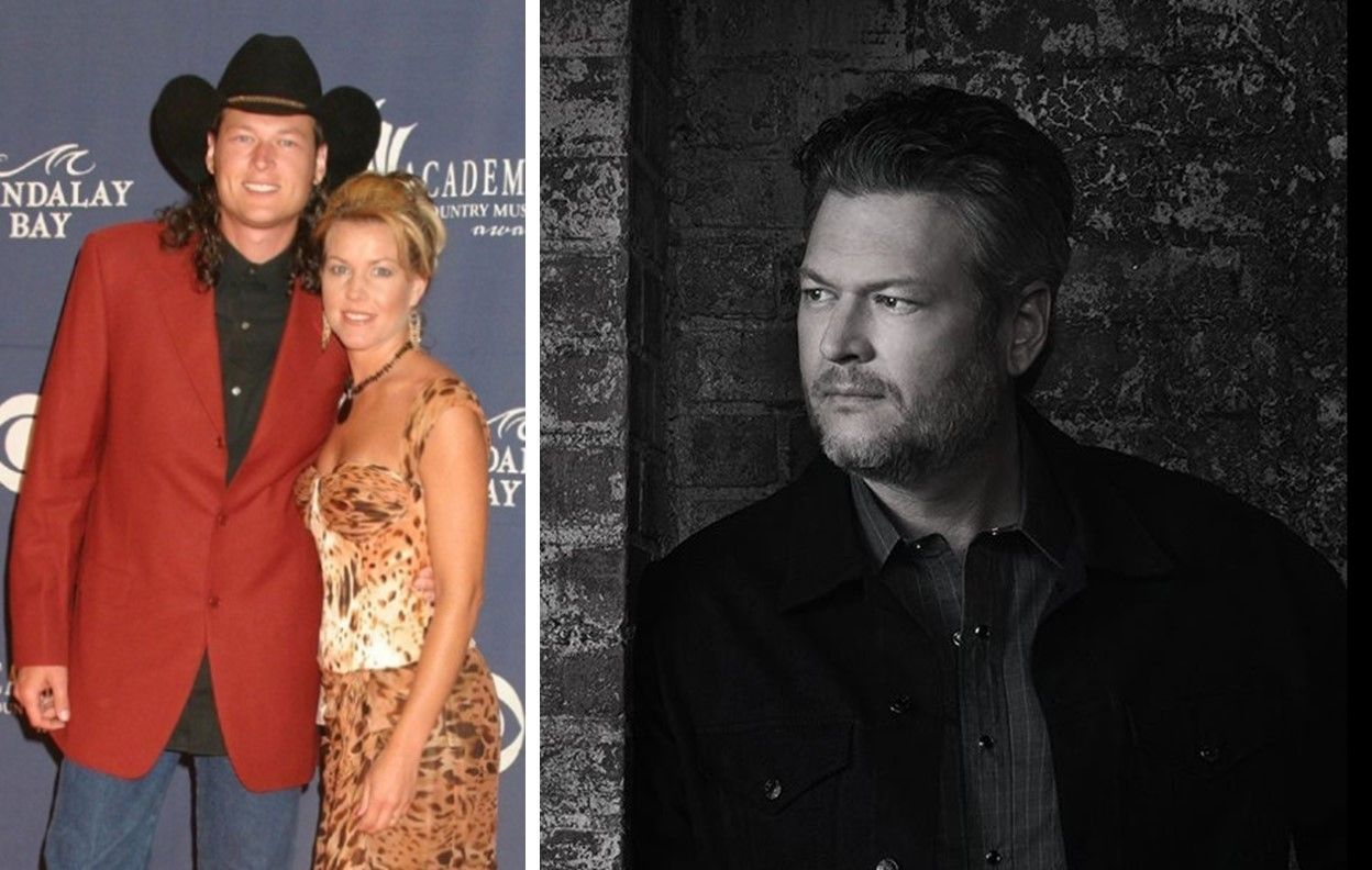 34++ Who was blake shelton married to first ideas