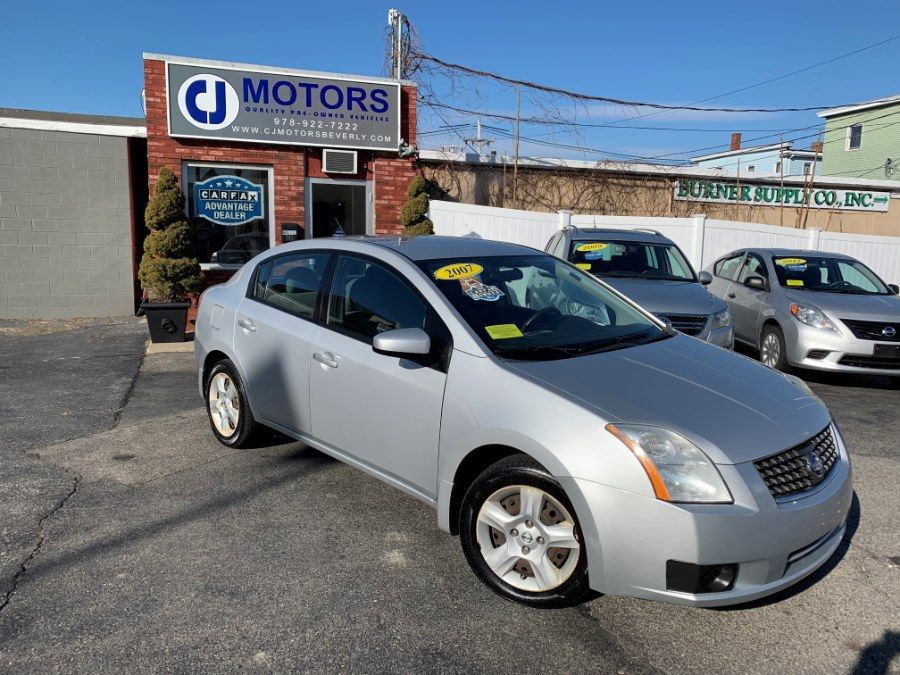 2007 Nissan Sentra 4dr Sdn I4 Manual 2 0 Available For Sale In Beverly Massachusetts Cj Motors Inc Beverly Massac Nissan Sentra 2007 Nissan Sentra Nissan