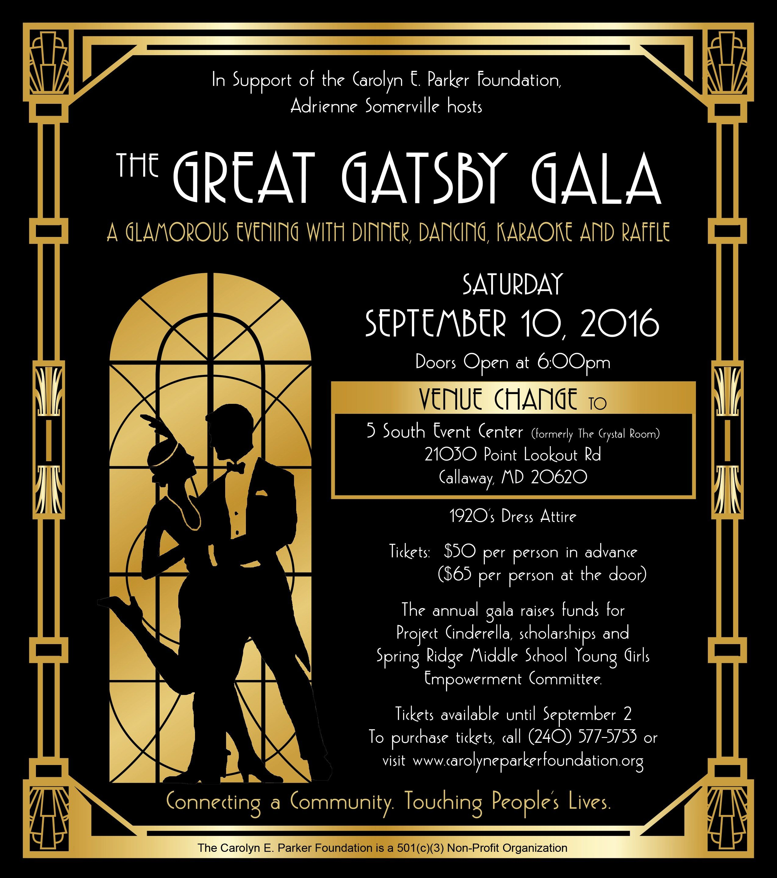 The Great Gatsby Gala | 1920\'s Party Theme | Pinterest | Gatsby ...