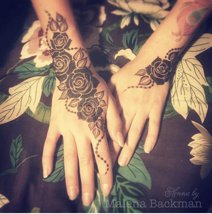 Roses Mehndi Designs Rose Mehndi Designs Mehndi Art Designs