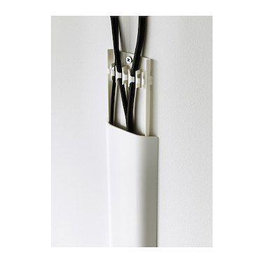 Uppleva Cable Cover Strip White Ikea Wishlist Meuble