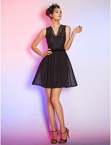 Vestidos bonitos color negro