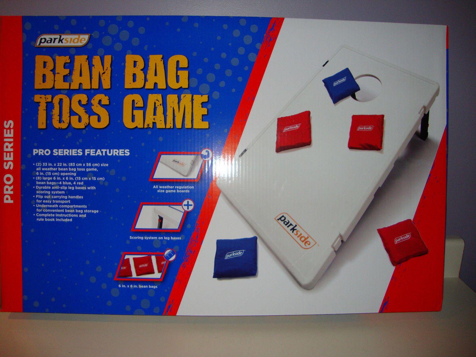 1 New Parkside Bean Bag Toss Pro Series Includes Bags Nib