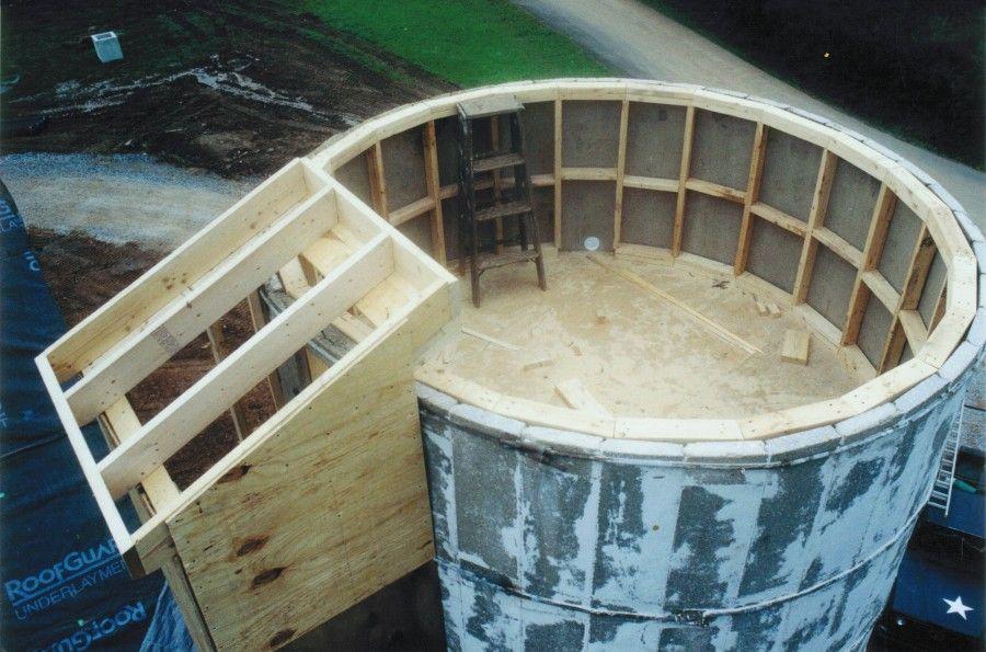 Barn Silo Conversion Conversion Of Bank Barn