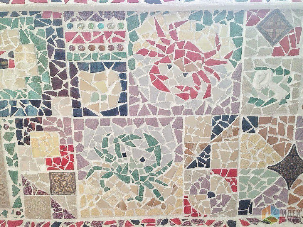 Дизайн мозаика своими руками