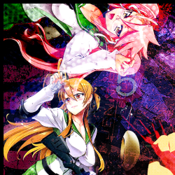Highschool of the Dead is an Anime Horror Series Set