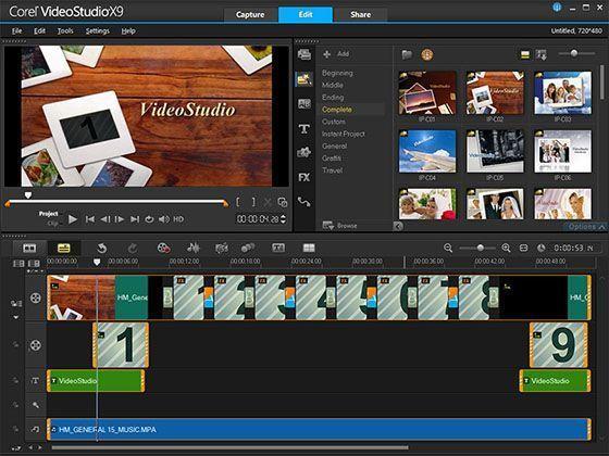 Corel Video Studio Menjadikan Grafis Video Makin