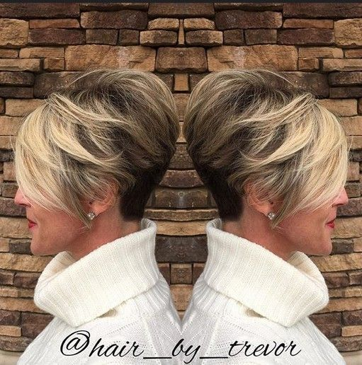 Short Hairstyles For Women With Thick Hair Ombre Pixie Haircut For Women Short Hair  Short Hairstyles For