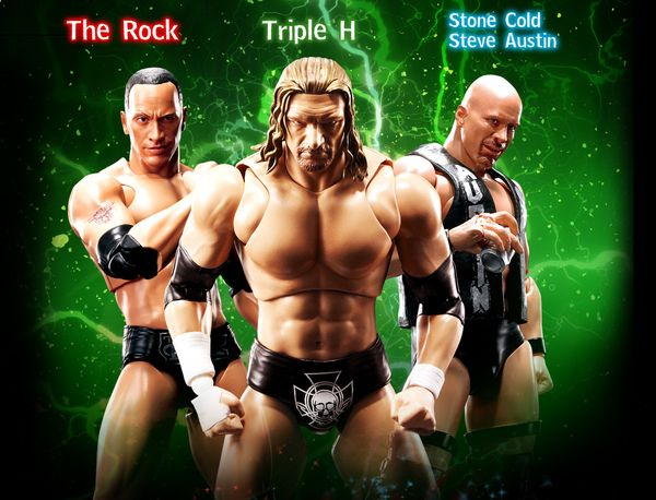 Official S.H. Figuarts WWE Triple H Figure Images