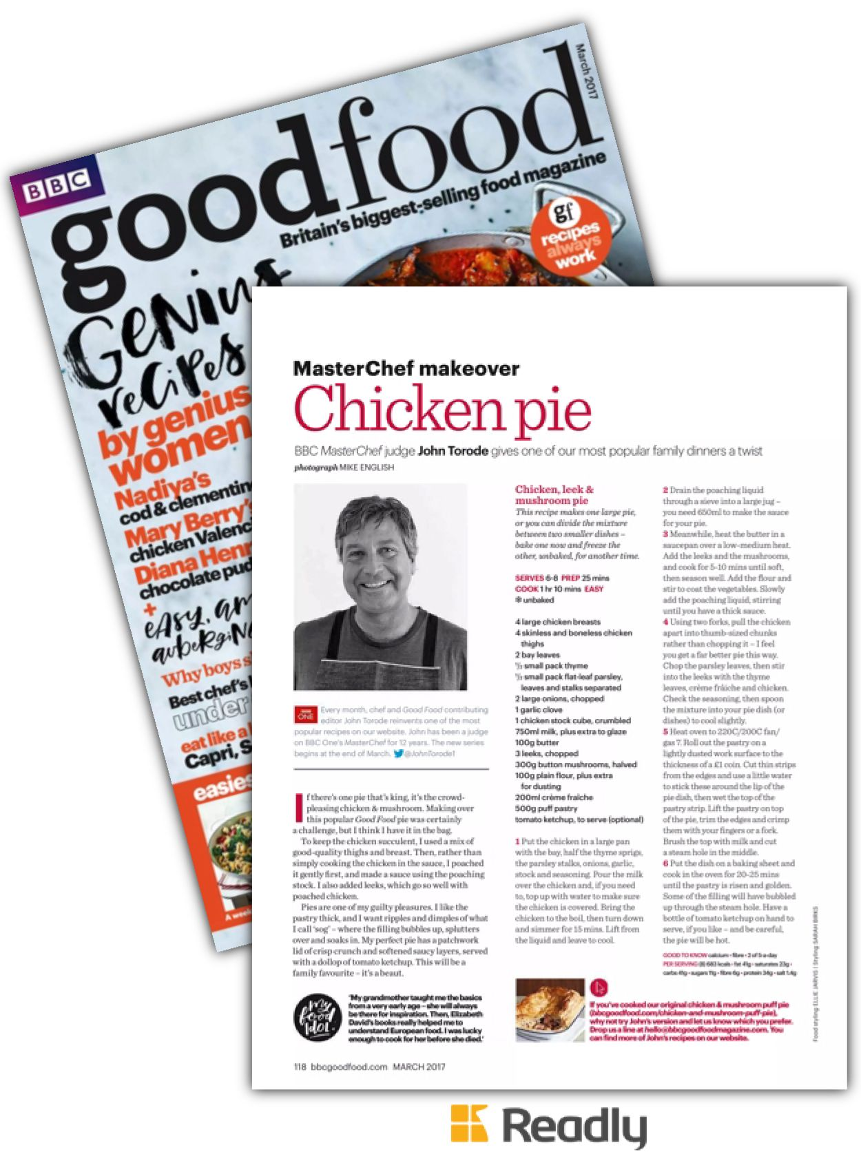 Suggestion about bbc good food mar 2017 page 118 recipes pinterest suggestion about bbc good food mar 2017 page 118 forumfinder Choice Image