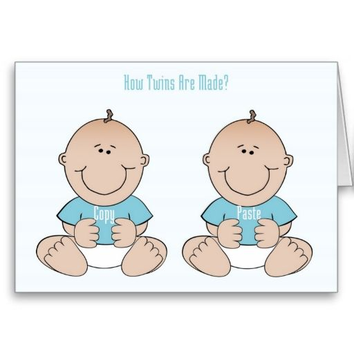Funny Greeting Card Cheeky Congratulations NEW BABIES LOVE BIRTH TWINS