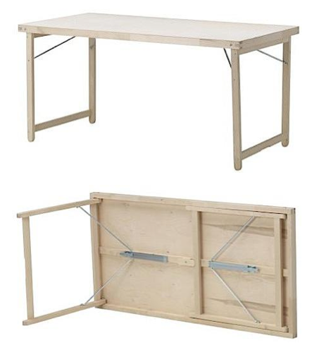 Tables mesas pinterest folding tables playrooms and living rooms for Table up and down ikea