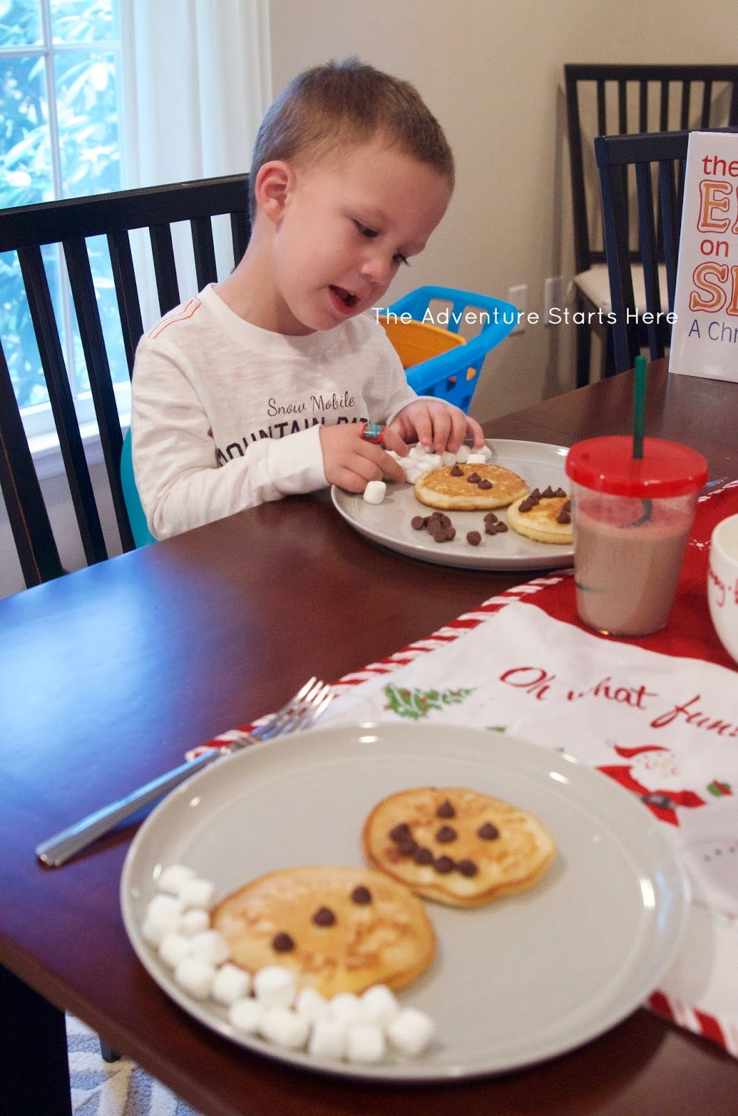North Pole Breakfast | Elf on the Shelf | The Adventure Starts Here #northpolebreakfast