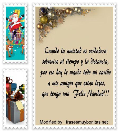 Postales Con Mensajes De Navidad Para Amigos Frases De