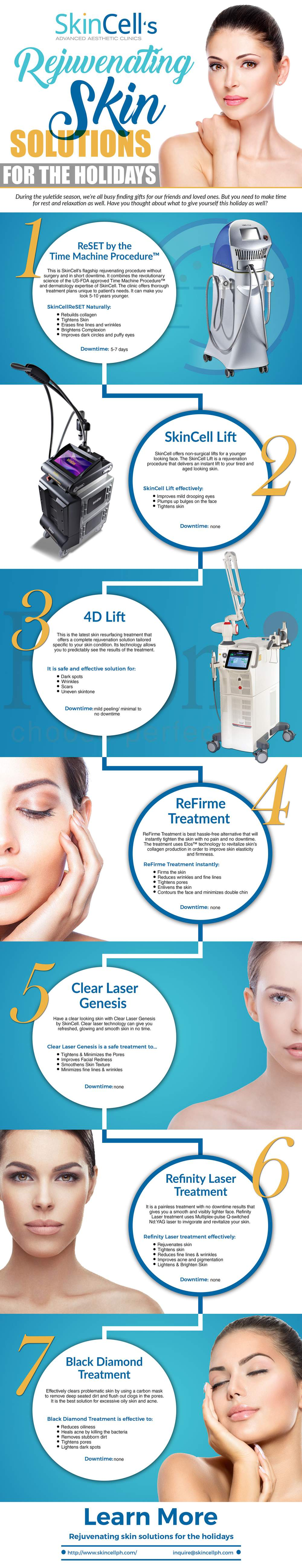 SkinCell's Rejuvenating Skin Solutions For the Holidays
