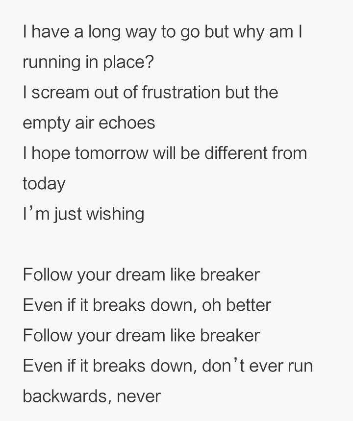 Lyric much more lyrics : BTS Tomorrow lyric | bts quotes | Pinterest | Tomorrow lyrics and BTS