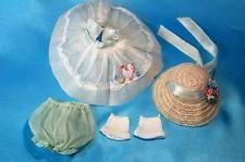 Vintage 1953 Vogue Ginny Chicken Dress Horse Hair Hat #356 Candy Dandy
