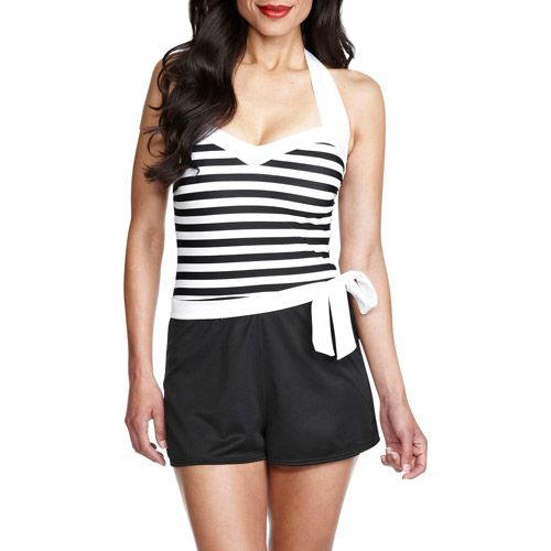 83d755d9bf Catalina Suddenly Slim Shortini Swimsuit - Walmart.com