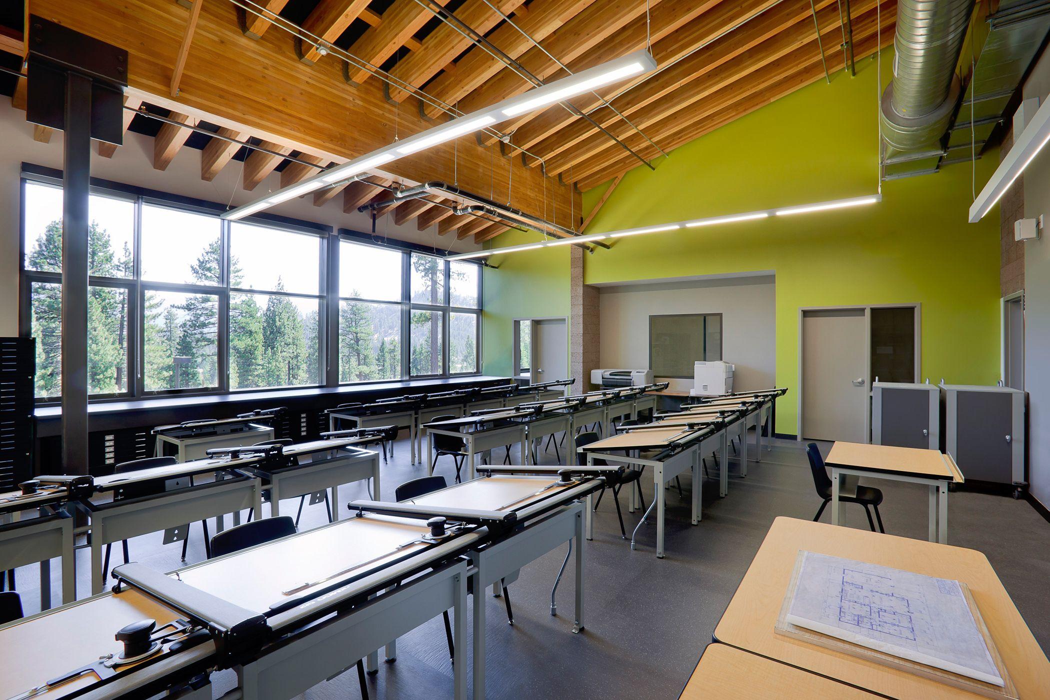 South Tahoe High SchoolDrafting RoomArchitecturePinterest