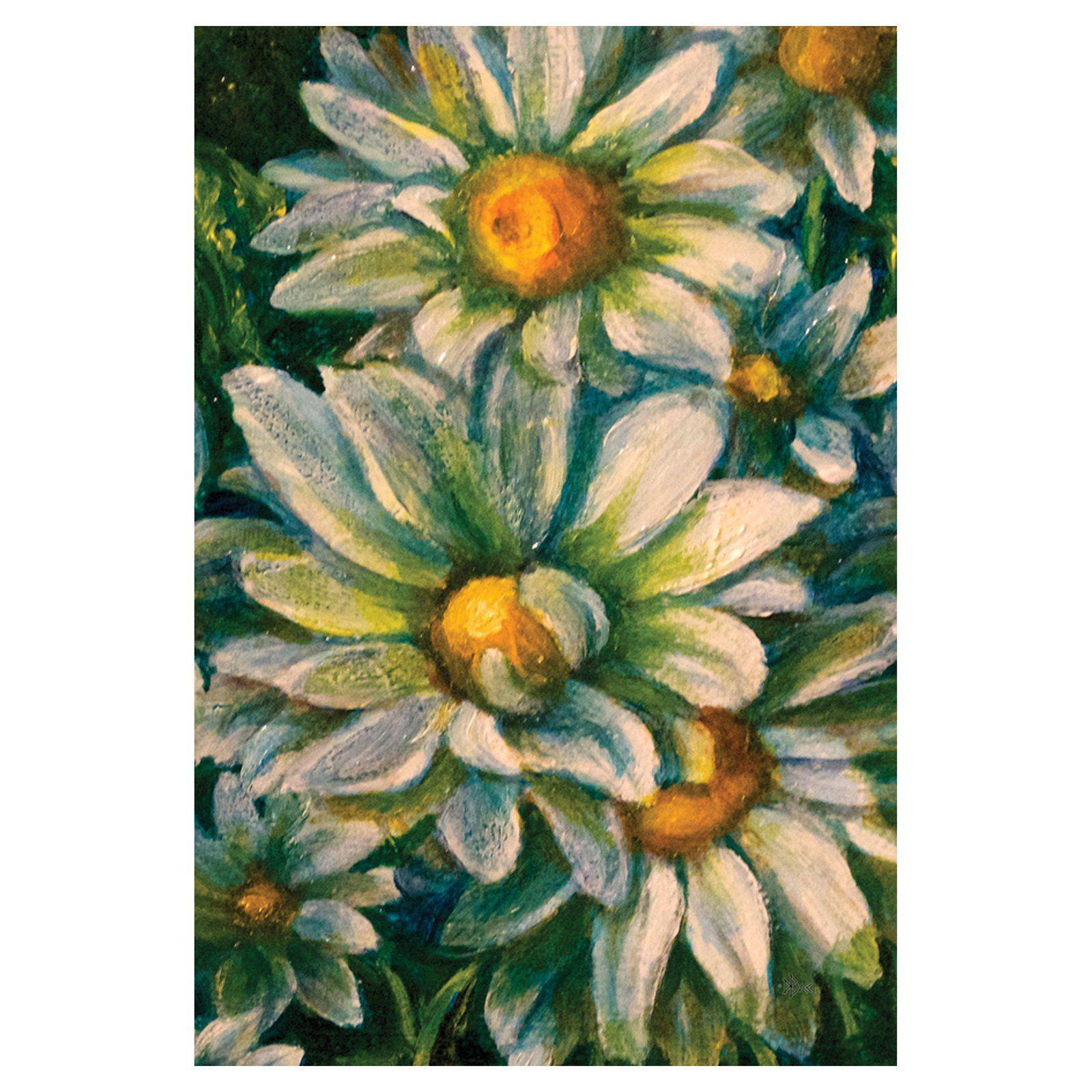 Toland home garden dancing daisies flag 119814 products toland home garden dancing daisies flag 119814 izmirmasajfo