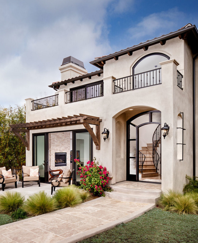 Spanish Style Home Exterior Design