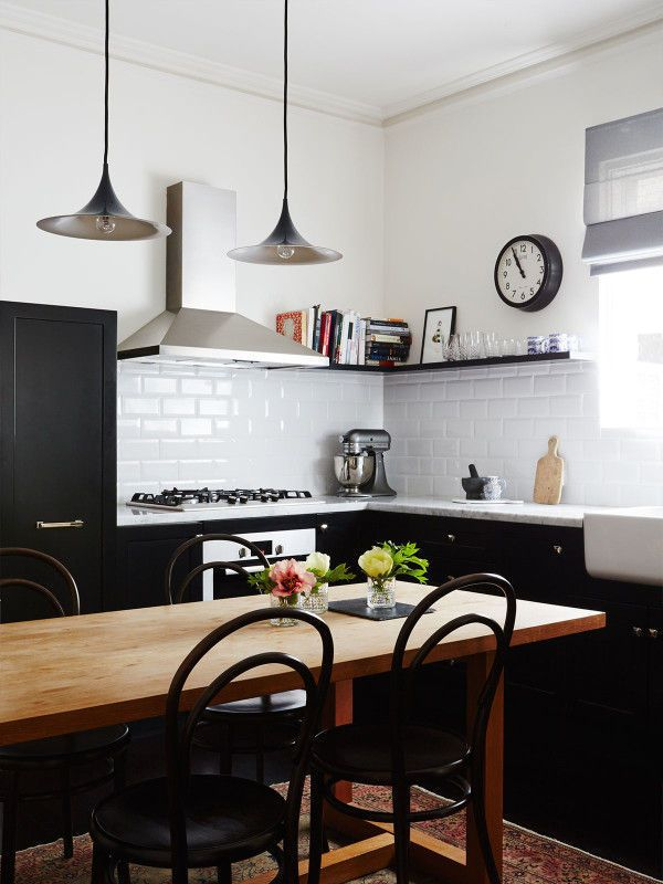 Rose Byrne's Brooklyn Townhouse  Kitchens Kitchen Design And Dining Delectable Townhouse Kitchen Design Ideas Design Inspiration