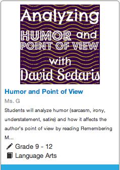 Students Will Analyze Humor Sarcasm Irony Understatement